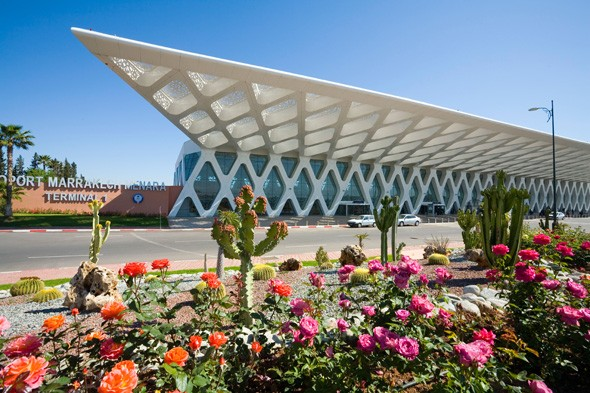 Menara Airport Terminal 1, Marrakech, Morocco