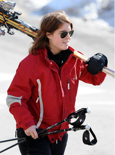Princess Eugenie in Verbier