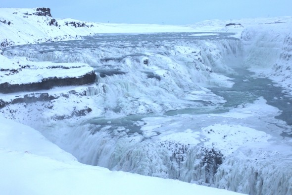 Get swept away by the Gulfoss Waterfall