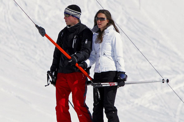 William and Kate in Klosters, Switzerland
