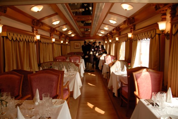 The Palace on Wheels, India