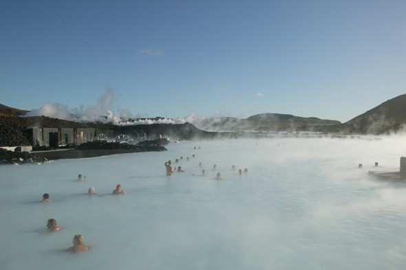 Take a dip in the Blue Lagoon