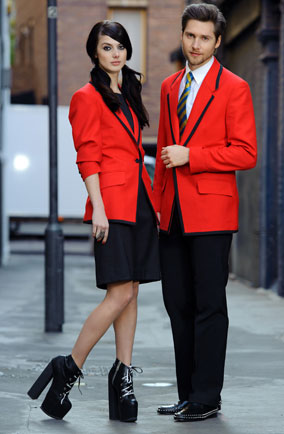2012: Hannah Clayton's modern take on the Redcoat