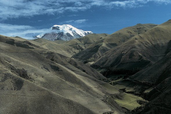 World's closest point to the moon: Mount Chimborazo, Ecuador