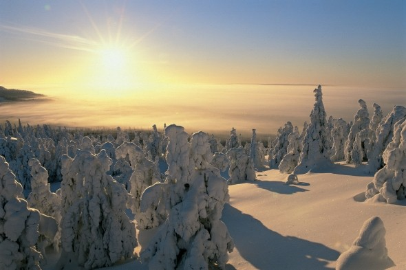 Skiing, saunas and lots of reindeer in Finnish Lapland