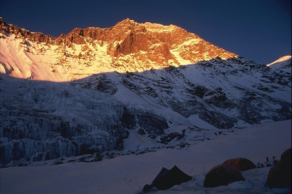 World's highest mountain: Mount Everest, Himalayas