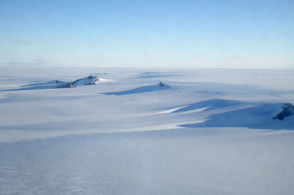 World's coldest place: Antarctica