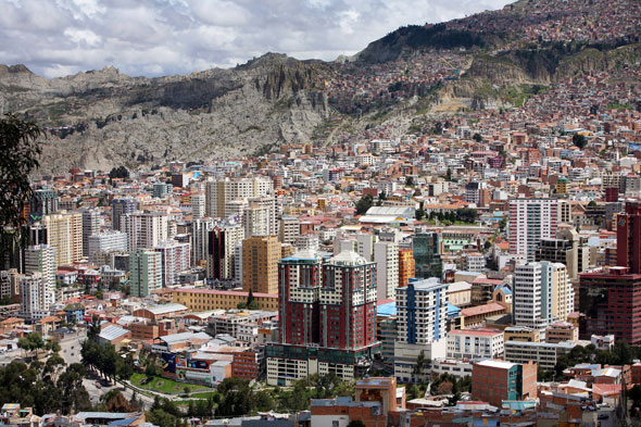 World's highest capital city: La Paz, Bolivia