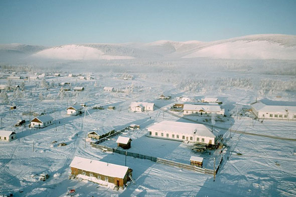 World's coldest inhabited place: Omyakon, Russia