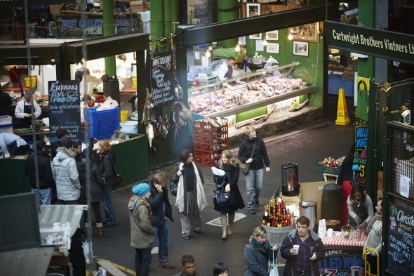 Soak up the atmosphere at Borough Market