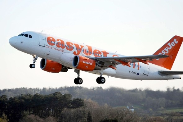 Man arrested on Easyjet flight as it lands at Gatwick