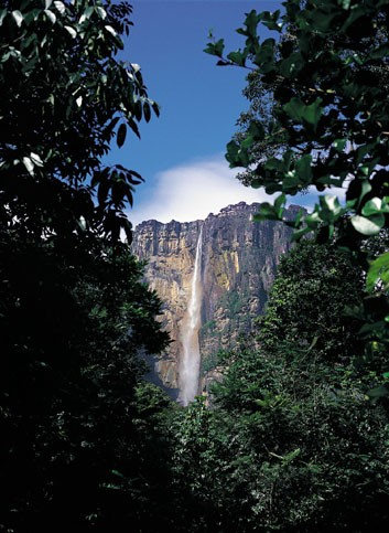 World's highest waterfall: Angels Falls, Venezuela