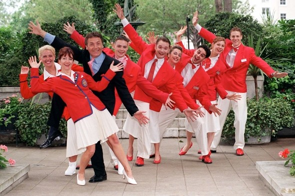 Butlins Redcoats get racy new look