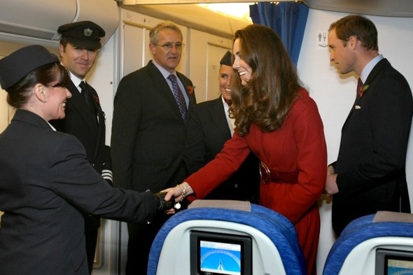 Prince William and Kate Middleton in 'mid-air collision' near miss