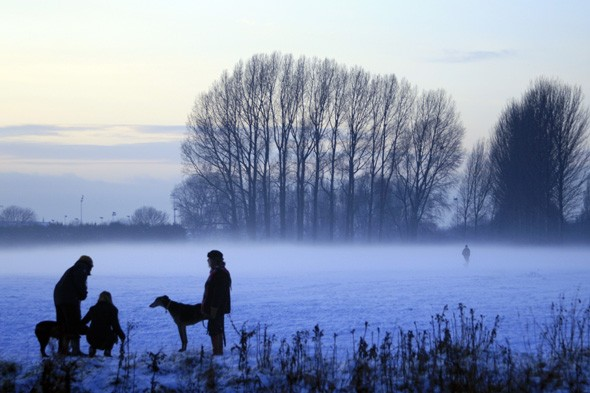 Dog walkers, Nottingham