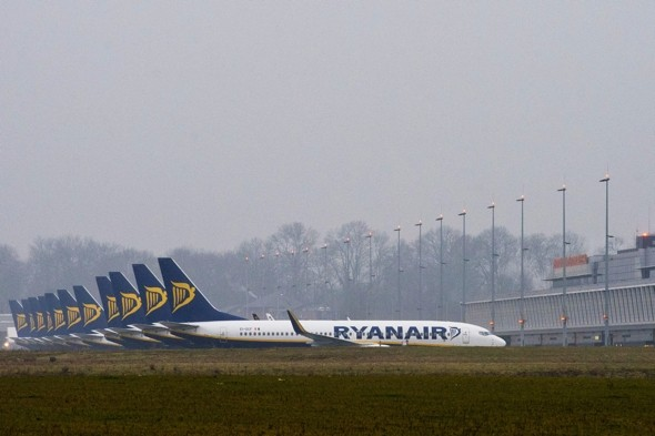 Ryanair's standing-only ticket plan thwarted