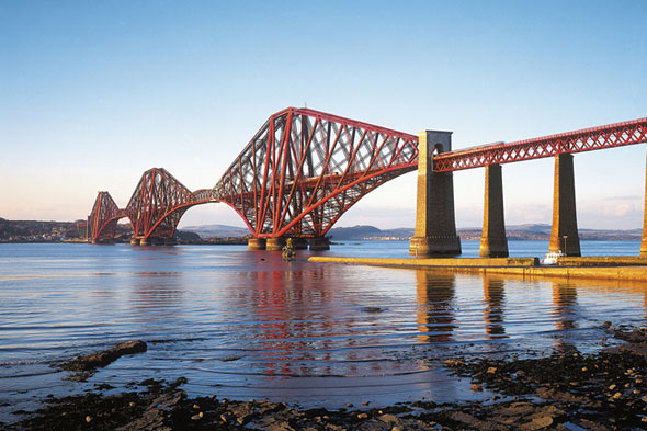 South Queensferry, Forth Rail Bridge, Scotland