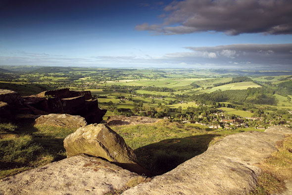 Curbar Edge, Peak District National Park, England