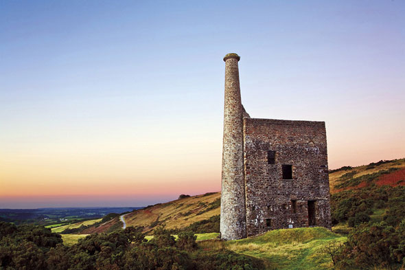 Wheal Betsy Tin Mine, Dartmoor National Park, England