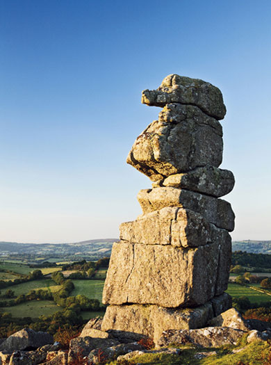Bowerman's Nose, Hayne Down, Dartmoor National Park, England