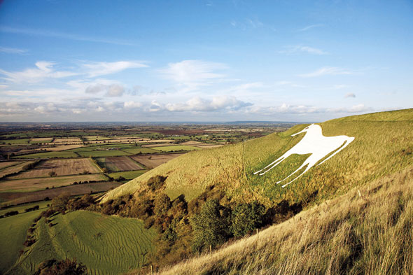 The Westbury White Horse, Wiltshire, England