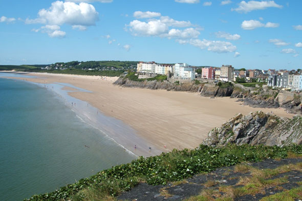 5. Tenby, Wales
