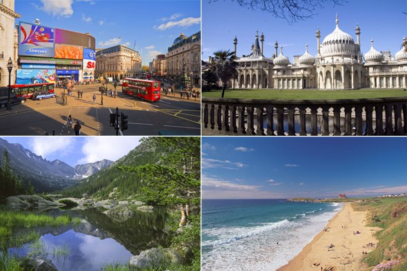 The seven wonders of Britain