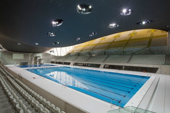 Where will the swimming competitions take place?