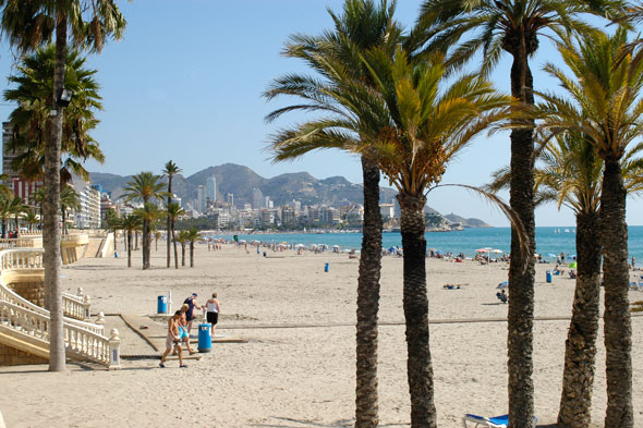 5. Benidorm, Spain