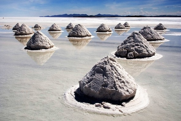 Drive the world's largest salt flats in Bolivia