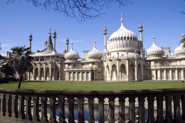Britain's answer: Brighton Pavilion