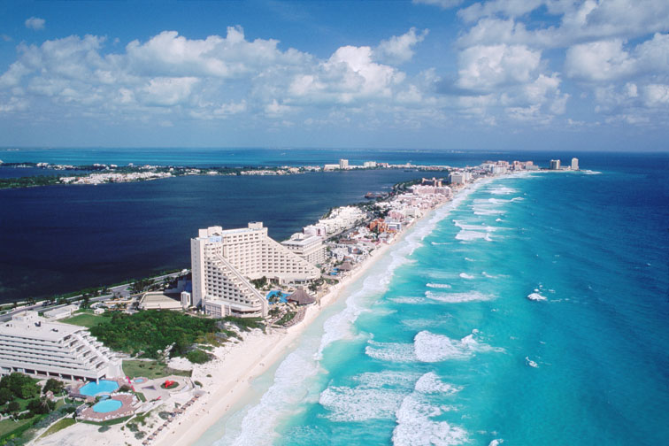 7. Cancun, Mexico
