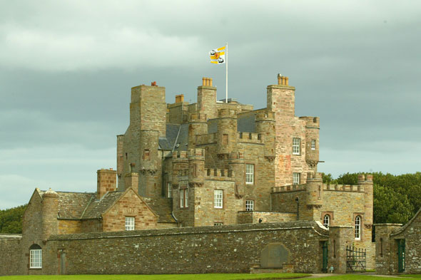 This Scottish castle was renovated by the Queen Mother. Where is it?