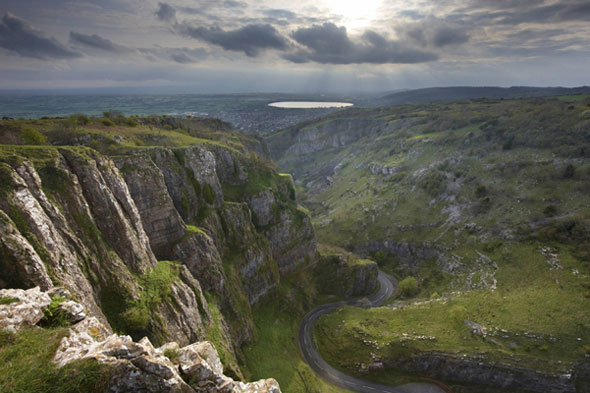 Britain's answer: The Cheddar Gorge, Somerset
