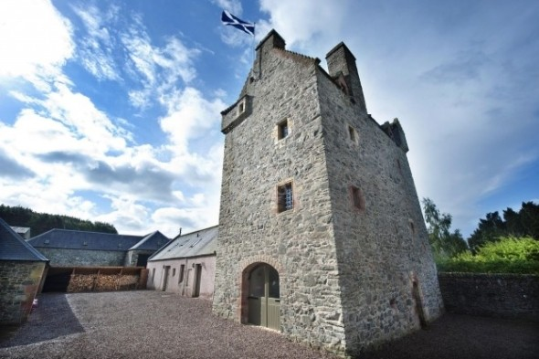 Sixteenth Century Castle, Selkirk, Scottish Borders
