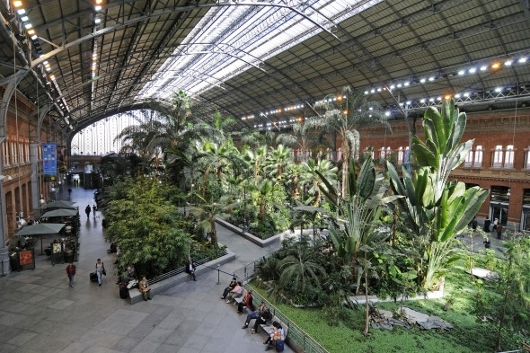 Estacion de Madrid Atocha, Madrid