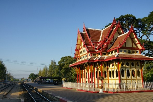 Hua Hin Railway Station, Thailand