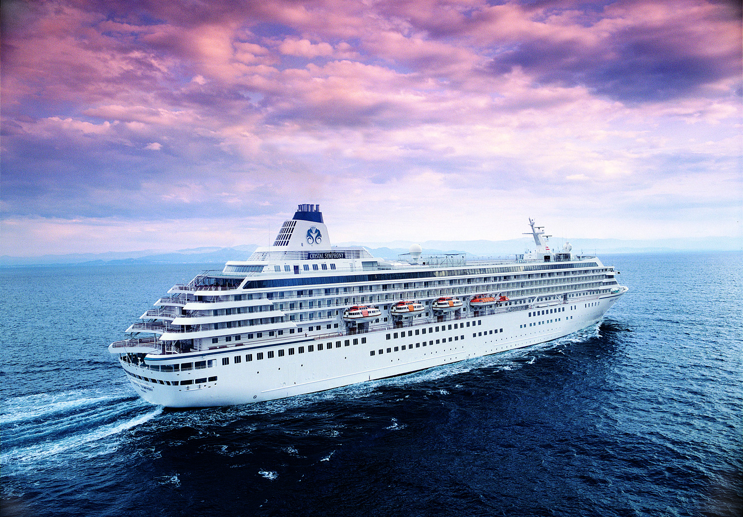 Go all-inclusive with Crystal Symphony