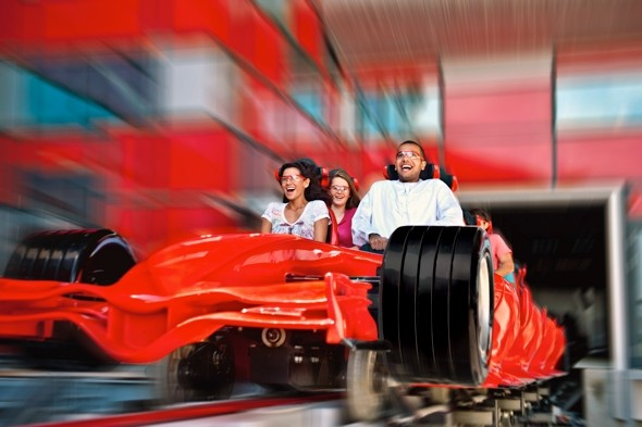 Ride the world's fastest roller coaster in Abu Dhabi