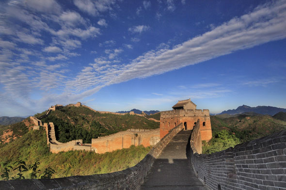 China's wonder: The Great Wall
