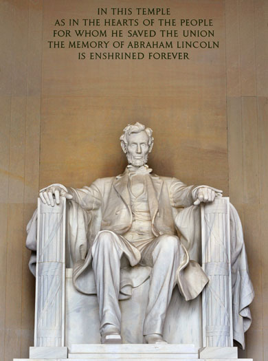 Abraham Lincoln, Washington DC, US