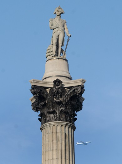 Nelson's Column, London, UK
