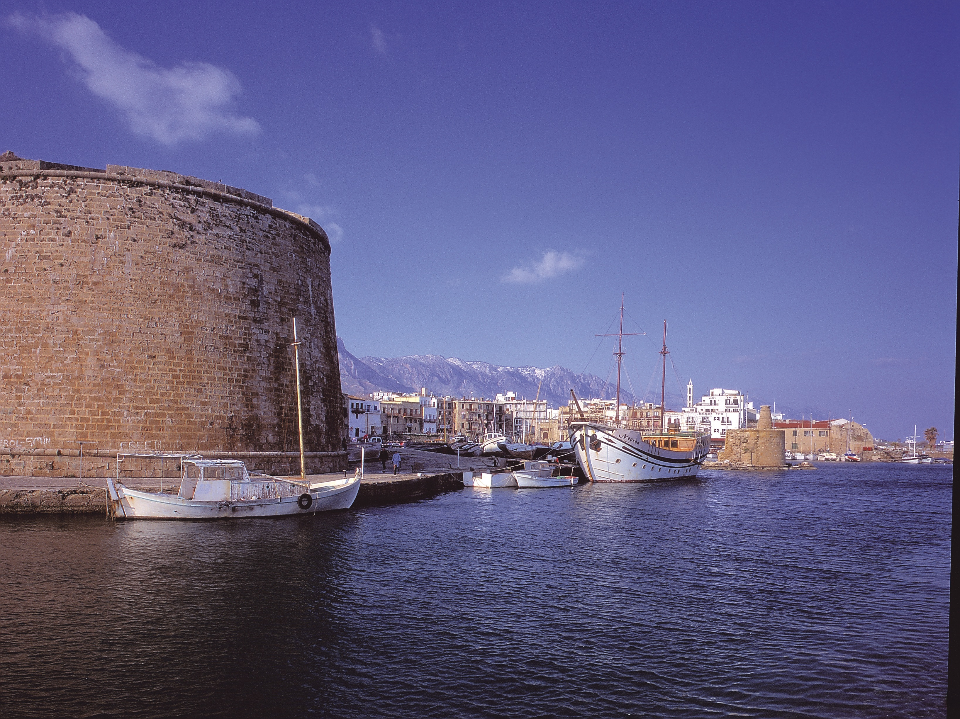 Check out Kyrenia Castle