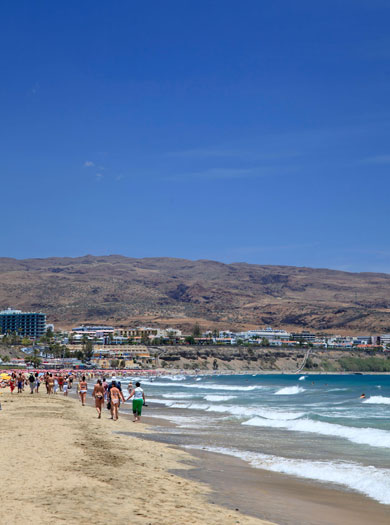 8. Playa del Ingles, Gran Canaria