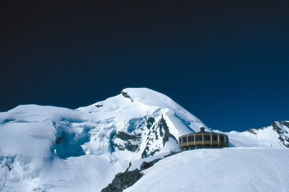 Eat at the world's highest revolving restaurant in Switzerland