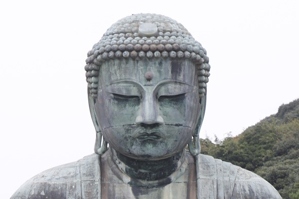 Where is this meditating buddha based?