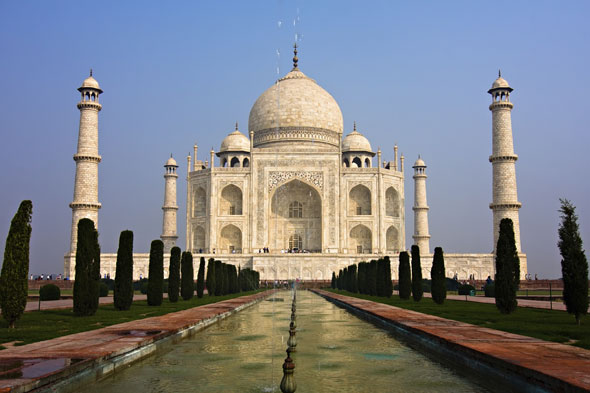 India's wonder: Taj Mahal