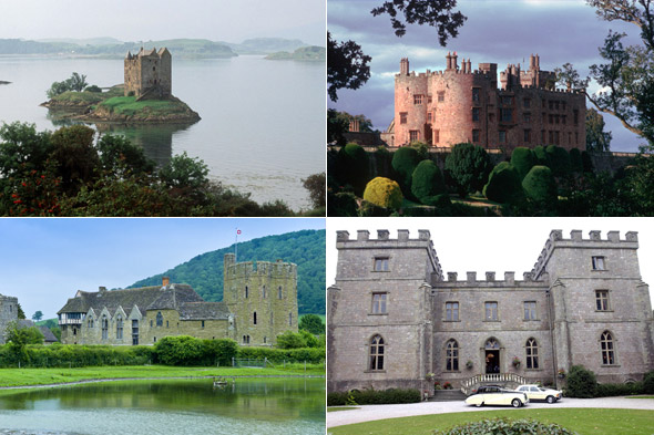Castles, castles everywhere... click on the image to begin!