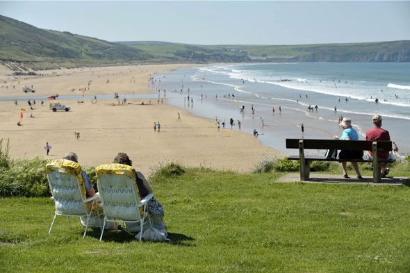 2. Woolacombe, Devon