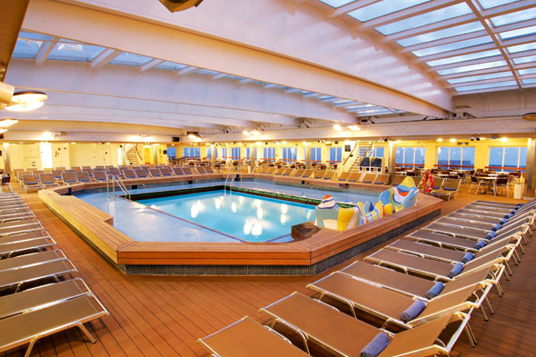 Pamper yourself on the Thomson Dream